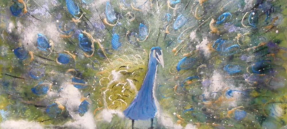 Fi Knox Art - Peacock Slider Image
